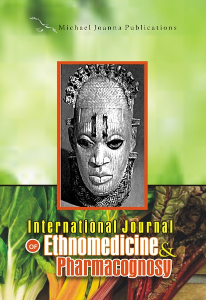 International Journal of Ethnomedicine and Pharmacognosy