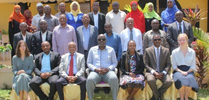 WHO supports capacity building for enforcement of and compliance with tobacco control regulations in Zanzibar