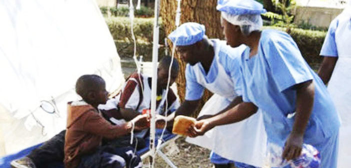 Zimbabwe cholera outbreak contained